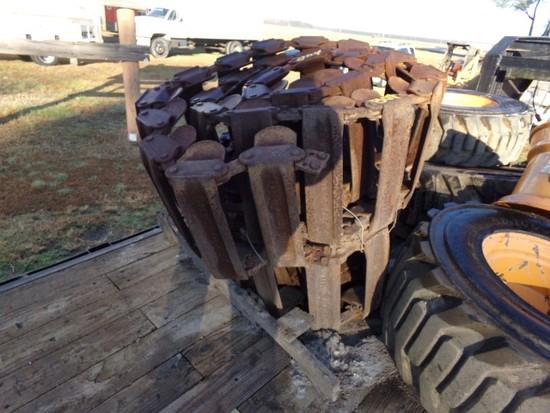 #804 CASE STEEL TRACKS LOEGCRING TRAIL BLAZERS