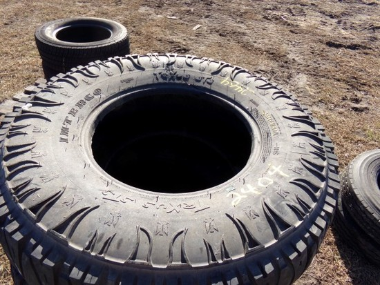 #2404 4 BARELY USED INTERCO TRXUS STS 35X12.50R17 LT RADIALS