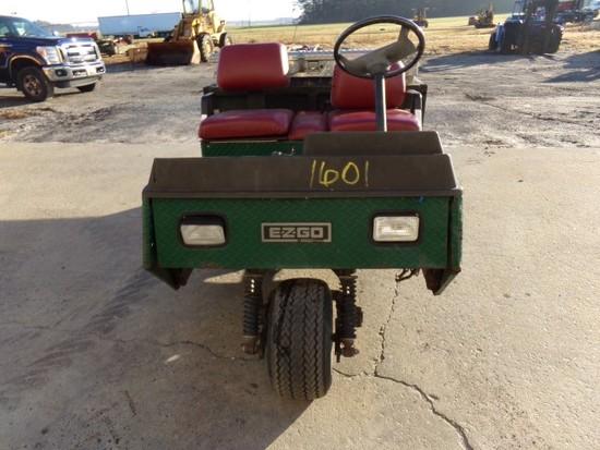 #1601 EZ GO GOLF CART 1500 WITH DUMP BED NEW TIRES REBUILT MOTOR