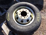 #2401 3 MICHELIN LTX M/S LT 225 75R16 8 LUG WHEELS