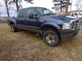 #3601 2004 F250 4X4 CREW CAB 5.4 GAS NO POWER STEERING 245289 MILES HAS RUS