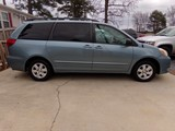 #1902 2005 TOYOTA SIENNA 97591 MILES AUTOMATIC 4 SP TRANS 3RD ROW SEATING C
