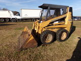 #4501 1840 CASE SKID STEER LOADER 2960 HRS NEW TIRES MISSING FLOOR PLATE