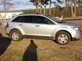 #3507 2013 FORD EDGE 125812 MILES PWR PKG CRUISE AM FM CD CLOTH AND CARPET