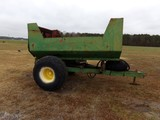 #501 FARM DUMP TRAILER NO TITLE 18.4 16.1 TIRES OVERALL LENGTH 12' DUMP 9'