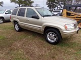 #1906 2000 JEEP GRAND CHEROKEE LIMITED 4X4 281787 MILES V8 HEATED SEATS CRU