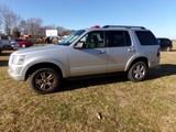 #1201 2010 FORD EXPLORER 4X4 4.0 L ENG 115631 MILES AUTO TRANS SOME RUST NO