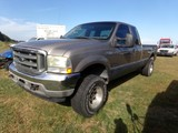 #5201 2002 FORD 7.3 DSL 4X4 250232 MILES AUTO TRANS EXT CAB 4 DOOR CRUISE K