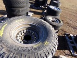 #2409 4 MICKEY THOMPSON BAJA CLAW RADIALS M/T WITH SIDE BITERS 33X12.5R15 L