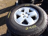 #2410 6 NEW MICHELIN LTX A/T2 RADIALS LT265 70R18 ON JEEP 5 LUG WHEELS