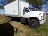 #5901 1995 CHEVROLET 6 WHEEL KODIAK CAT DIESEL 320720 MILES AUTO TRANS 18'