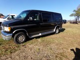 #2101 2001 FORD E150 CONVERSION VAN V8 106430 MILES PWR PKG NO REAR SEATING