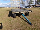 #4001 HAY WAGON 16 X 8 DECK SALT TREATED LUMBER