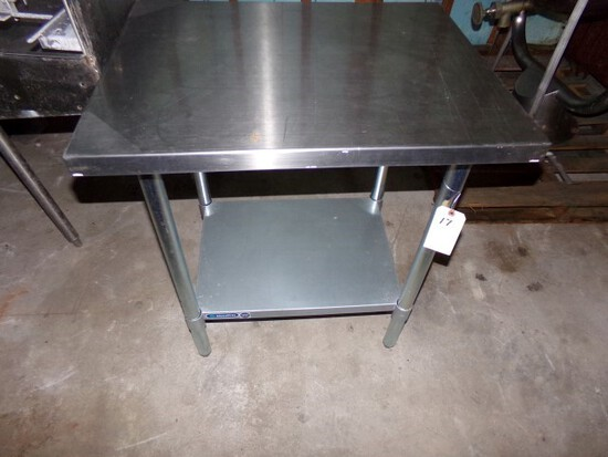 METALFRIO SS WORK TABLE 24 X 30 LIKE NEW