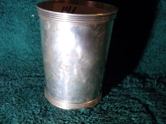 STIEFF STERLING CUP 3 1/2 INCH TALL 4.27 T OZ