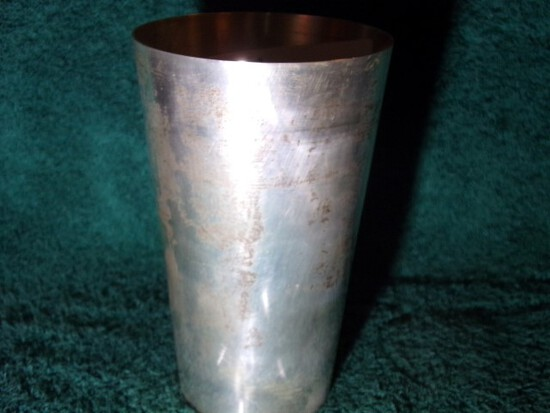 STIEFF STERLING CUP 5 INCH 5.03 T OZ