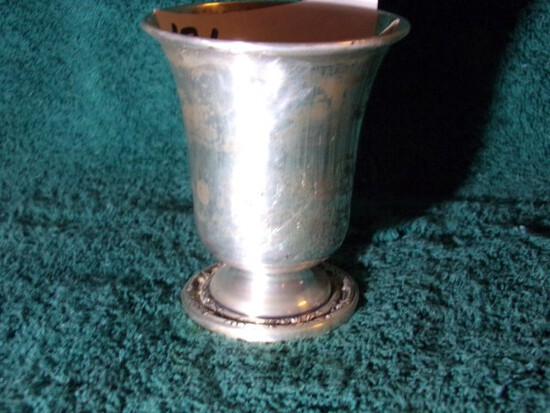 WILD ROSE INTERNATIONAL STERLING NH9 2 3/4 TALL 1.47 T OZ
