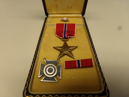 BRONZE STAR AND OTHER MILITARY AWARDS