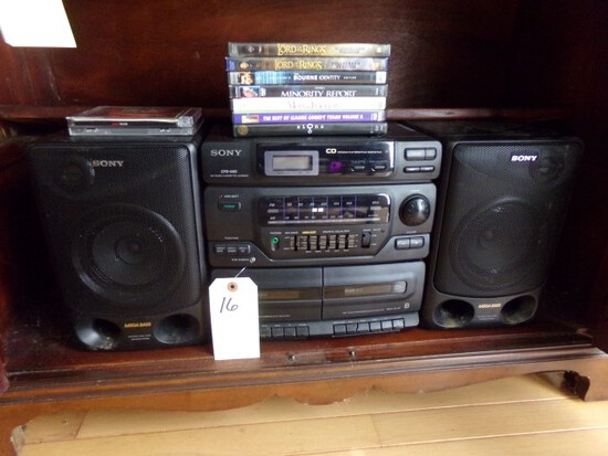 SONY MULTI COMPONENT STEREO