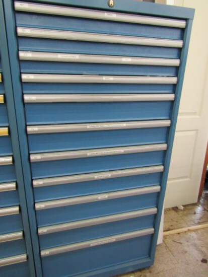#1087 LISTA II DRAWER TOOLS OR PARTS CABINET