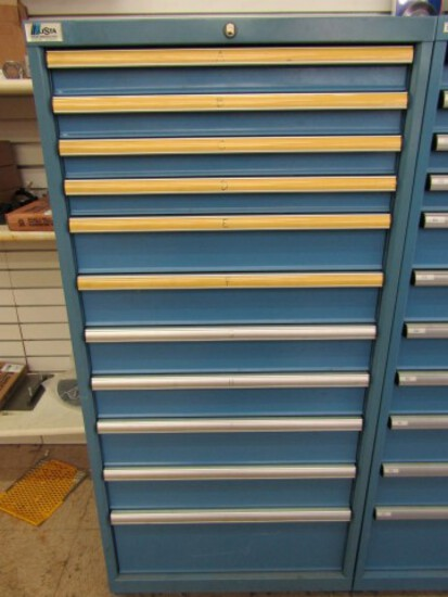 #1088 LISTA II DRAWER TOOLS OR PARTS CABINET