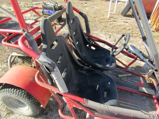 #701 YERFDOG GO CART MOTOR RUNS NEEDS BELT AND PULLEY
