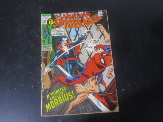 THE AMAZING SPIDERMAN 101 1971 FIRST APPEARANCE OF MORBIUS