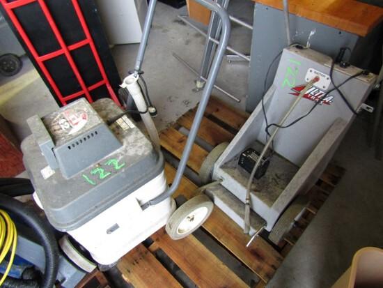 SPRITE ADVANCE 12 FLOOR SCRUBBER ULTRA TRAK BY FAST TRAK FLOOR WAXING MACHI