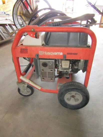 #3901 HUSQVARNA PWMA PW101 PRESSURE WASHER 3100 MAX PSI BRIGGS AND STRATTON
