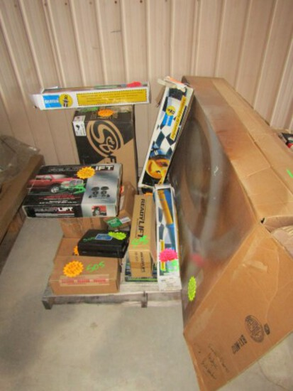 #505 PARTS LOT FOR DODGE BUSHWACKER FENDER FLARES 09-21 DODGE RAM READY LIF
