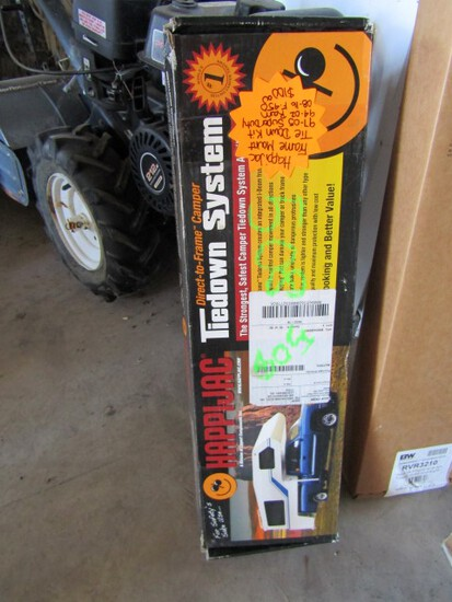 #508 HAPPI JACK CAMPER TIE DOWN SYSTEM NEW IN BOX FITS 97-05 SUPER DUTY 94-