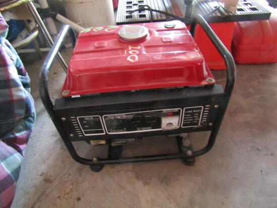 #204 PORTABLE GENERATOR GAS POWERED 1000 WATT 120 VOLT AC DC RECEPTICLE VOL