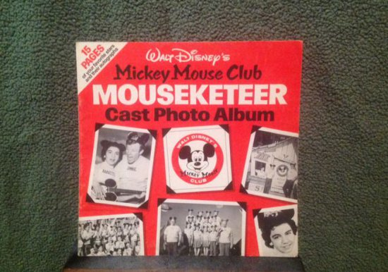 1950's Mickey Mouse Club Photo Album