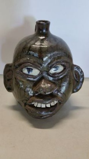 Chester Hewell Face Jug