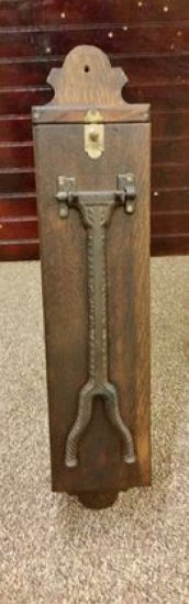 Late 1800's Shoe Shine Stand