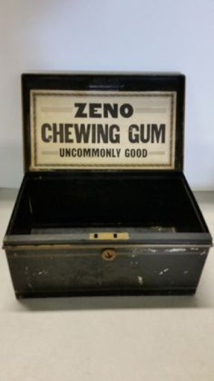 Late 1800's Zeno Chewing Gum Display