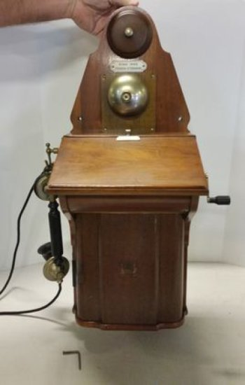 Early 1900s German Crank Telephone