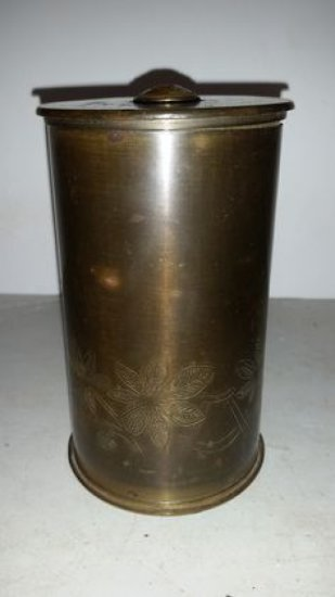 WWI Trench Art Artillery Shell
