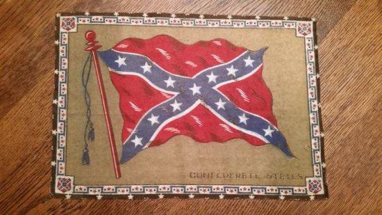 Scarce 1915 Patima Confederate States Banner
