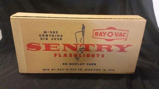 NOS Ray-O-Vac Flashlight Display