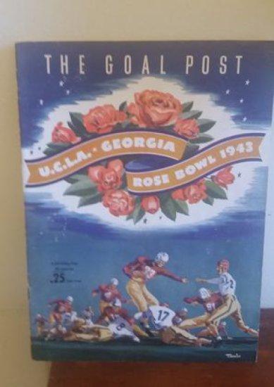 1943 Rose Bowl Program