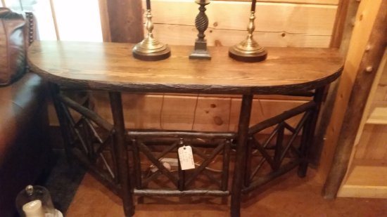 North Country Sofa Table