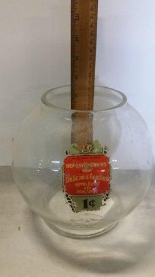 Vintage Columbus Gumball Globe