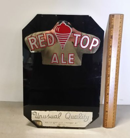 1950s Redtop Ale Bar Sign
