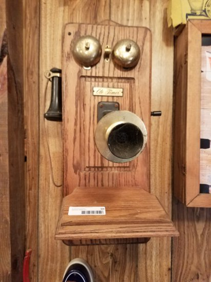 Reproduction Crank Style Phone w/ Touch Tone Dial