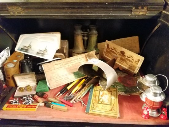 Assorted Antique Items
