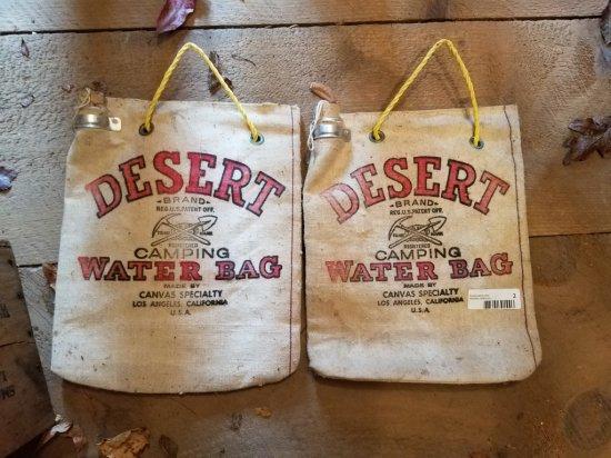 "2 Desert Water Bags 14"" X 11"""