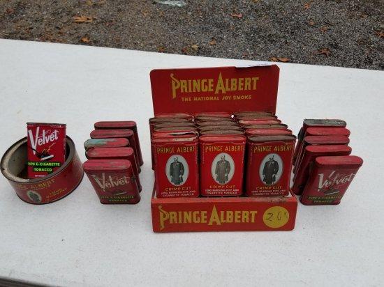 Antique Metal Prince Albert Dislpay
