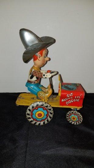 1930s Rodeo Joe Windup Toy