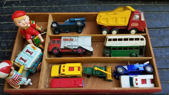 Lot of Vintage Toys
